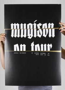 Mugison Mugiboogie tour poster