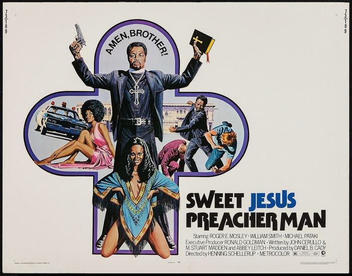Sweet Jesus, Preacher Man (1973) movie posters 2