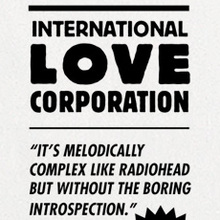 International Love Corporation contact card