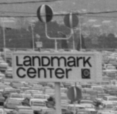 Landmark Center sign 1