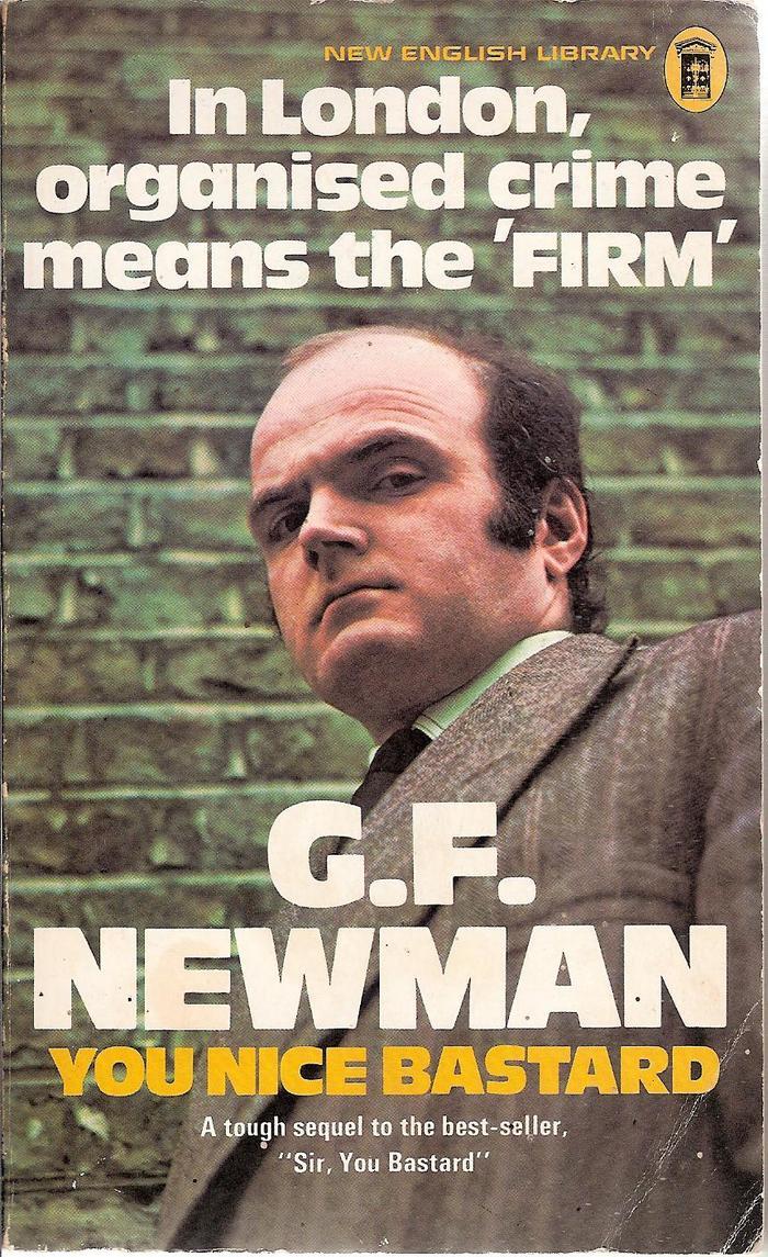 You Nice Bastard by G.F. Newman