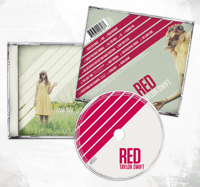 RED – Taylor Swift 3