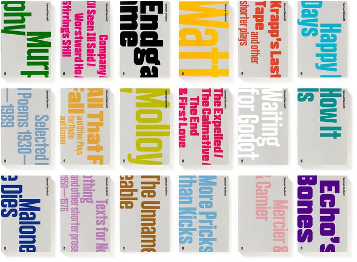 Samuel Beckett Complete Works, Faber & Faber Editions 3