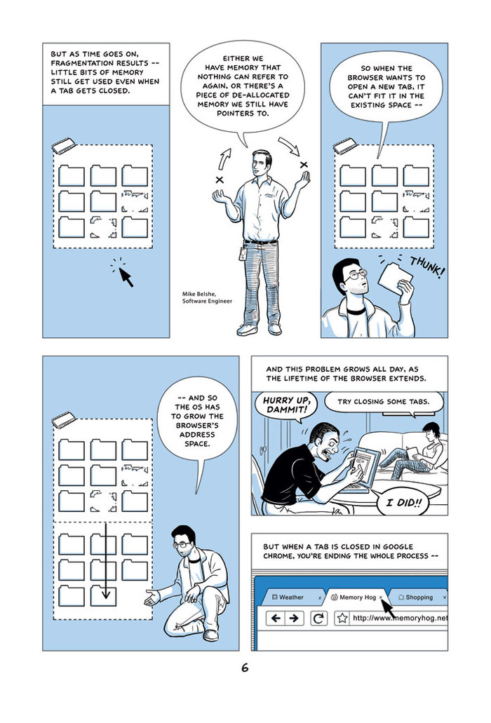 Google Chrome Introduction Comic 4
