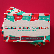 Mei Yen Chua business cards