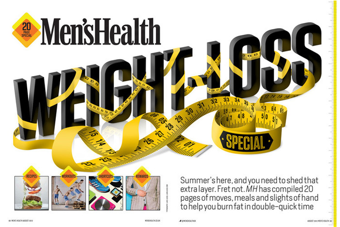 Men's Health (UK): 2012 Weight-Loss Supplement 2