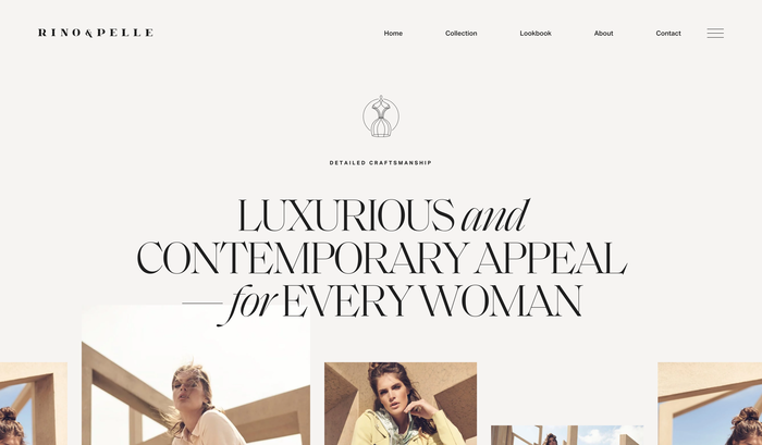 Rino & Pelle identity and website 2