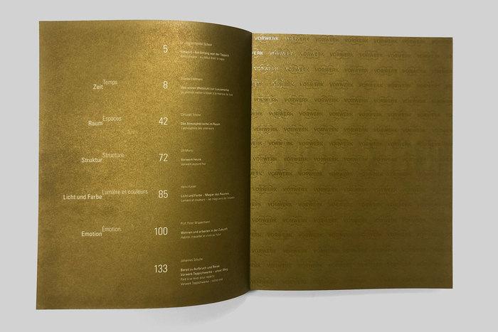 Zeit/Time, Raum/Space, 125 years Vorwerk & Co. Teppichwerke 2