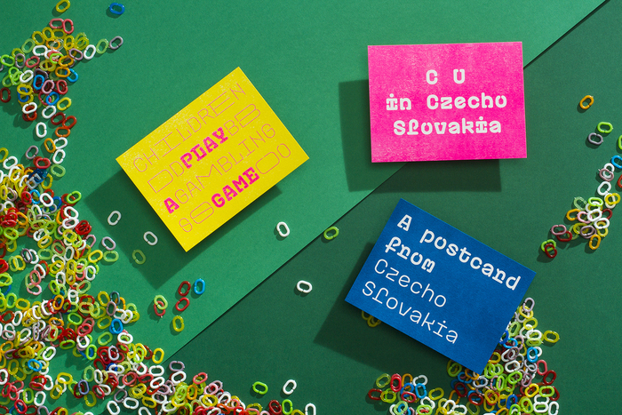 Plastic postcards 5