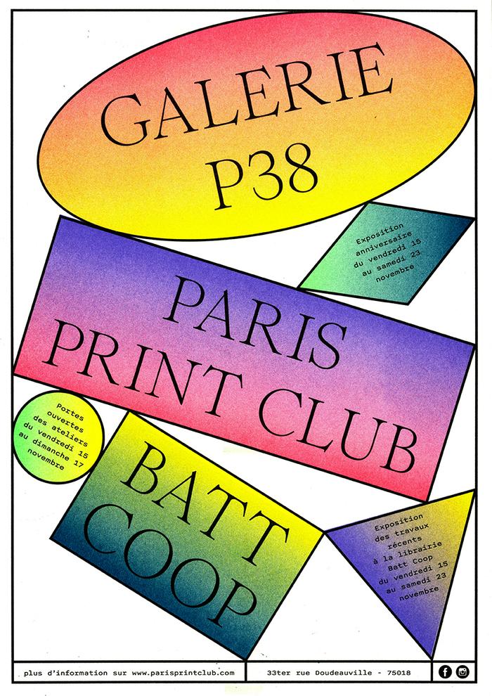 Paris Print Club open days 2019