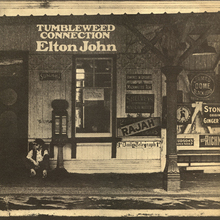 Elton John – <cite>Tumbleweed Connection</cite> album art
