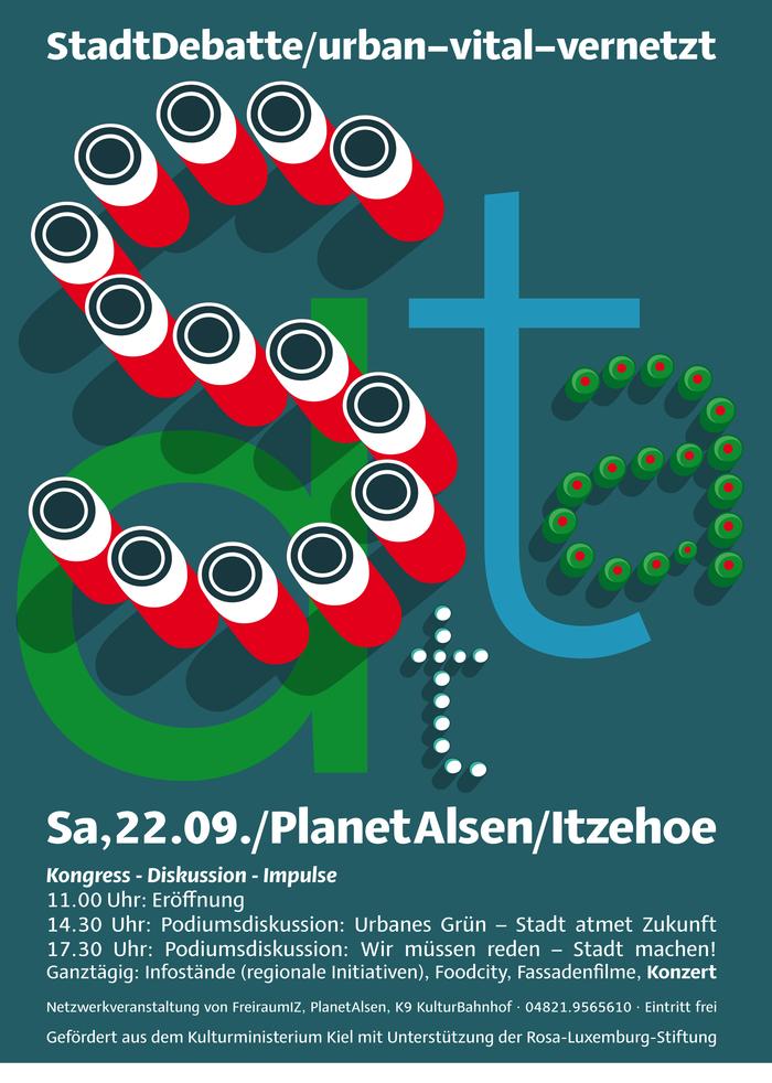 StadtDebatte posters 2