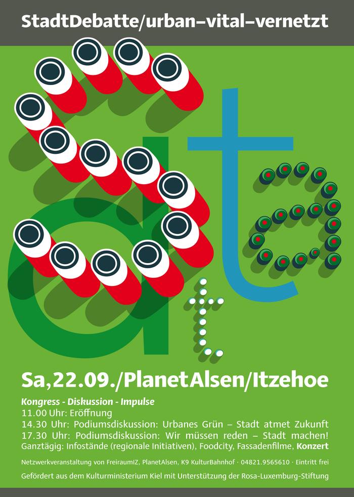 StadtDebatte posters 1