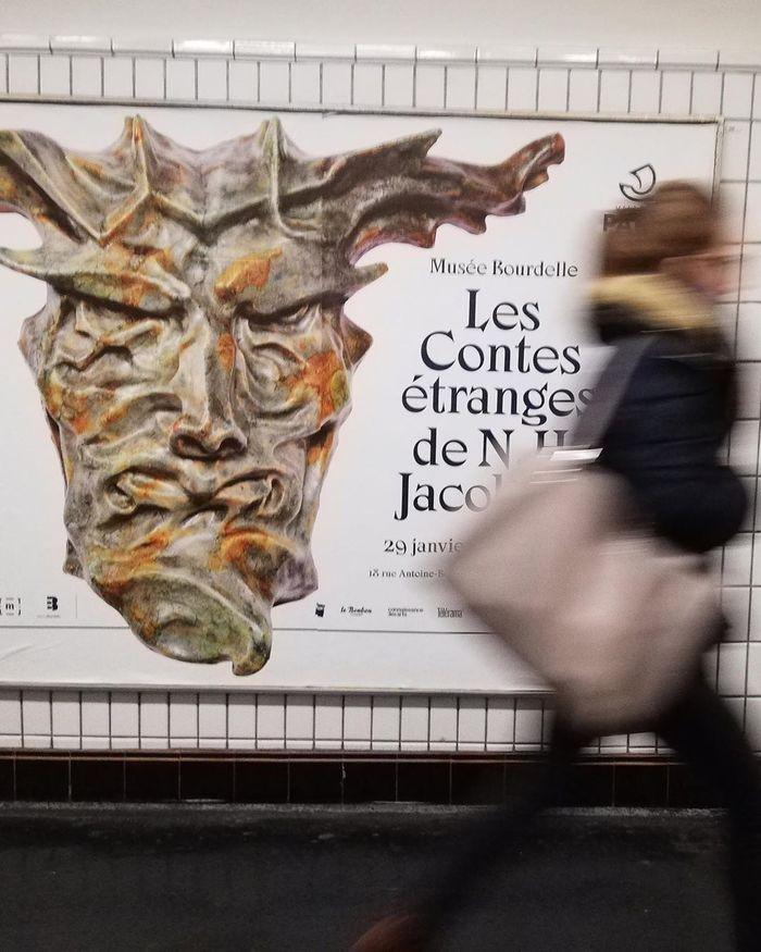 Les Contes Étranges de Niels Hansen Jacobsen at Musée Bourdelle exhibition posters and booklet 1