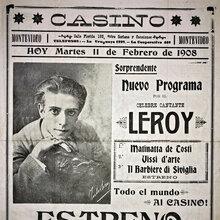 Nuevo Programa por el Celebre Cantante Leroy poster