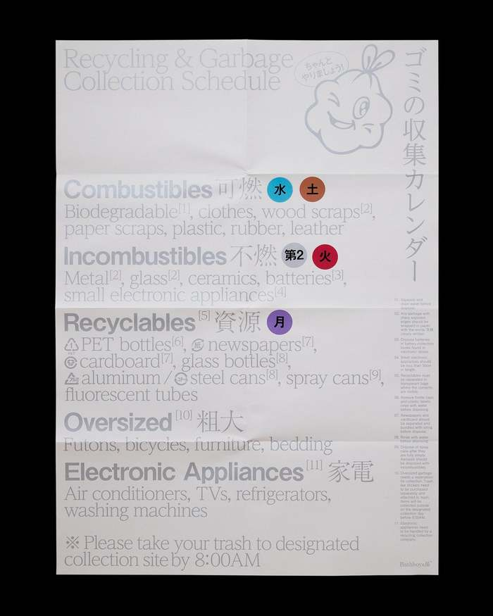 Bathboys湯 Recycling poster 1