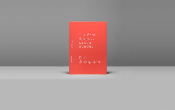 I Afton Dans… Sista Steget exhibition catalogue 1