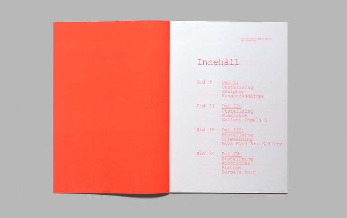 I Afton Dans… Sista Steget exhibition catalogue 3
