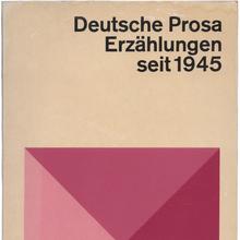 <cite>Deutsche Prosa. Erzählungen seit 1945</cite>, dtv