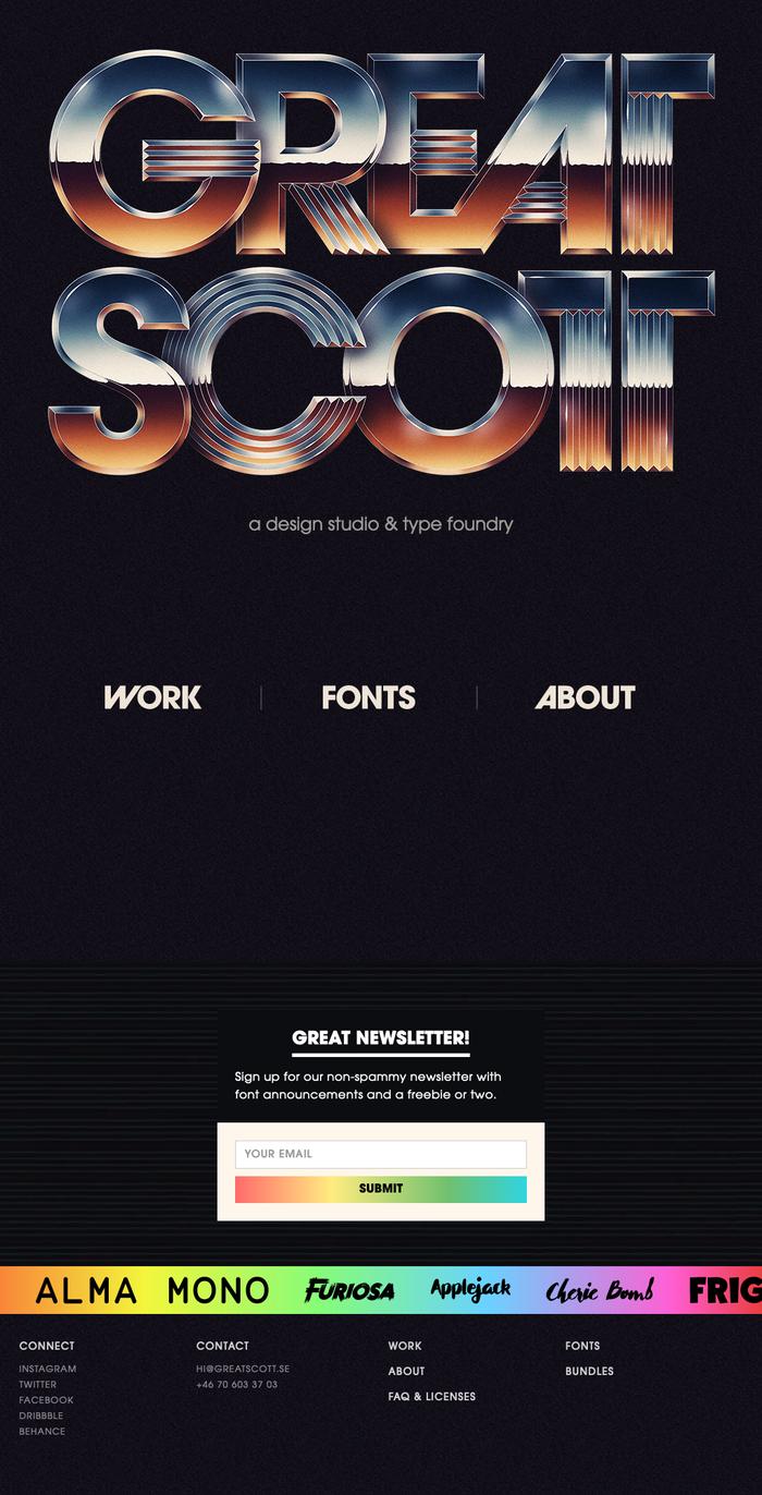 Great Scott logo and website 3