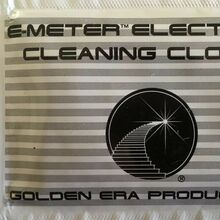 E-Meter Electrode Cleaning Cloths