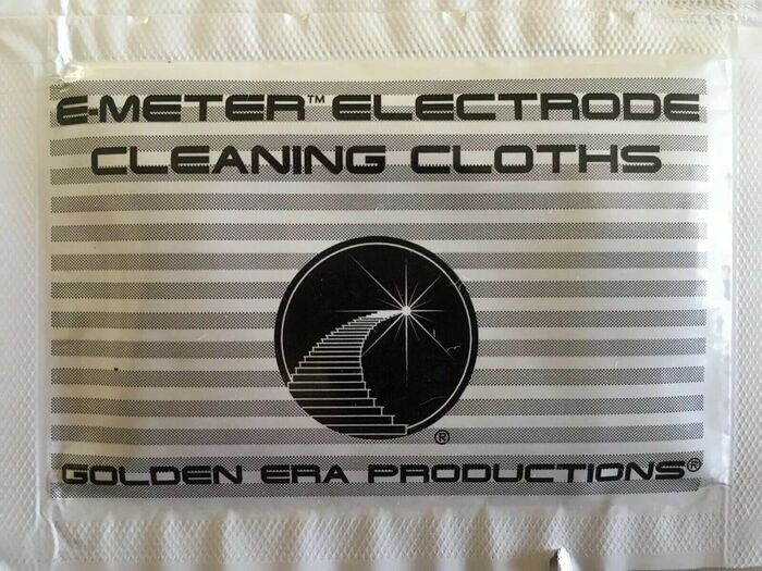 E-Meter Electrode Cleaning Cloths 1