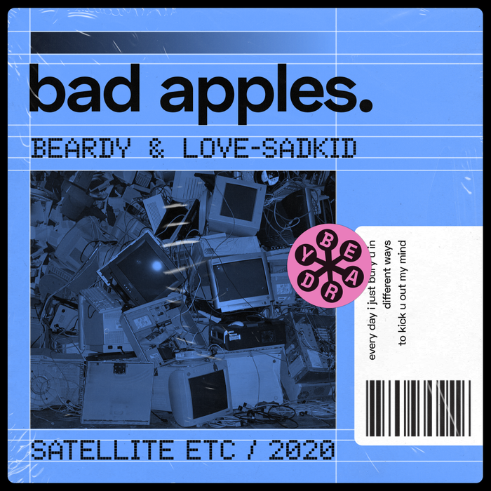 Beardy – Satellite etc album art 2