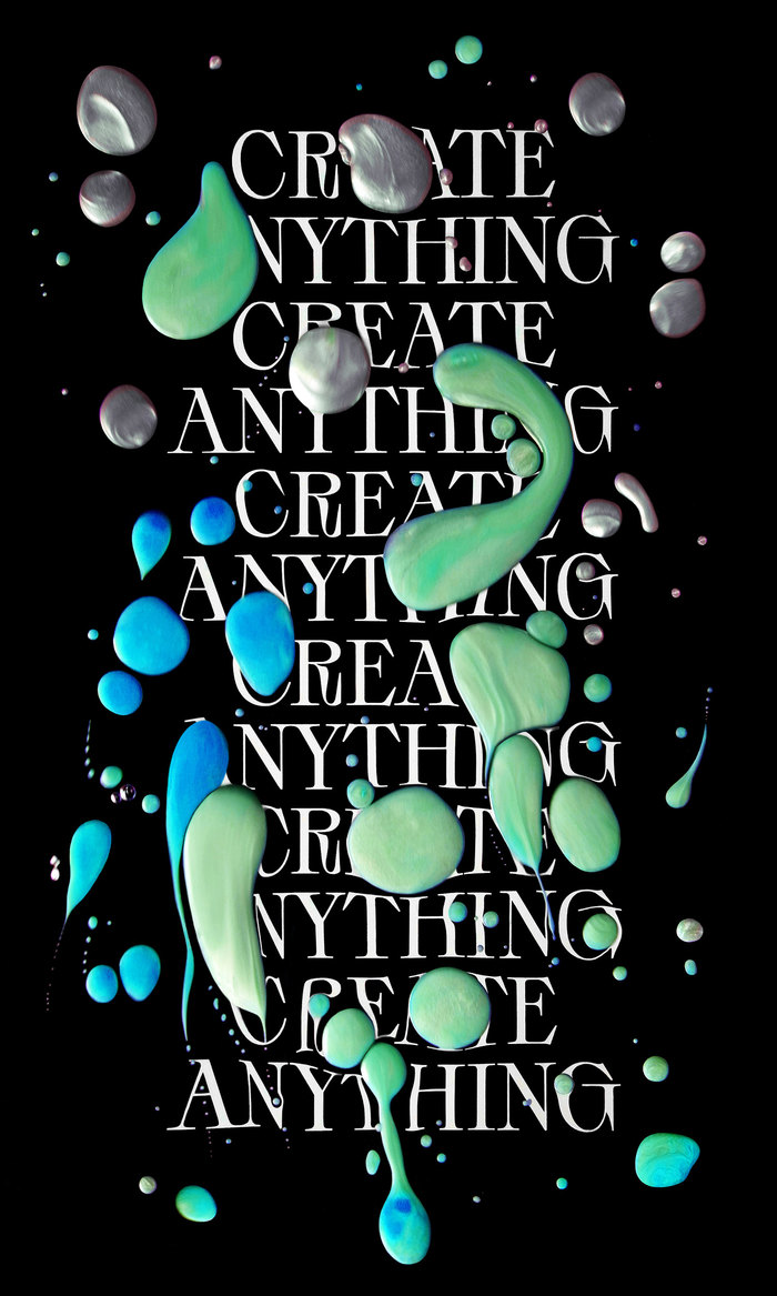 Create Anything poster 1