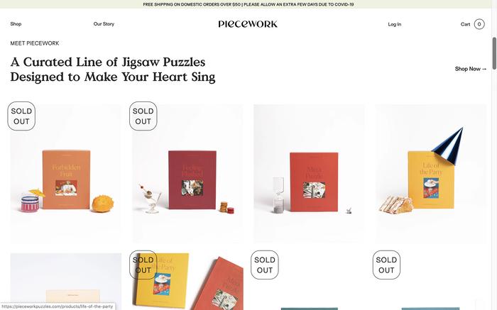Piecework Puzzles 3