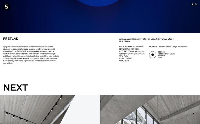 Vrtiška & Žák website 3