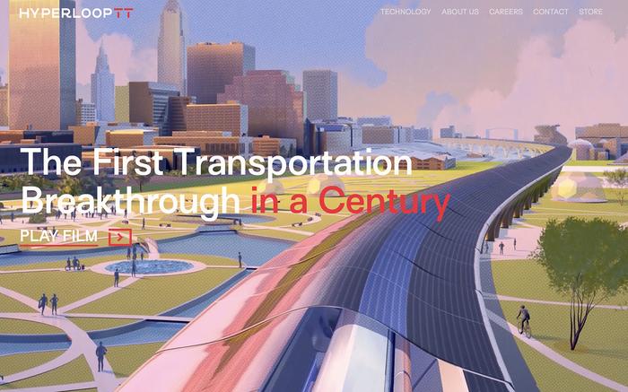 Hyperloop TT website 1