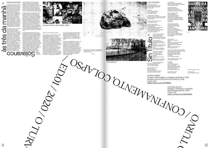 O Turvo, Issue 01 5