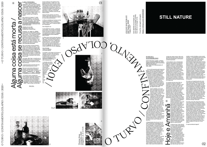 O Turvo, Issue 01 2