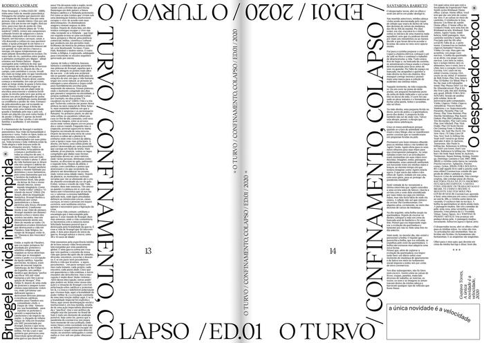 O Turvo, Issue 01 6