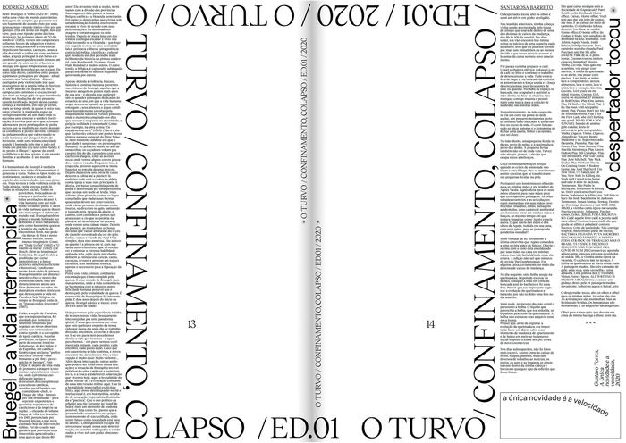 O Turvo, Issue 01 6