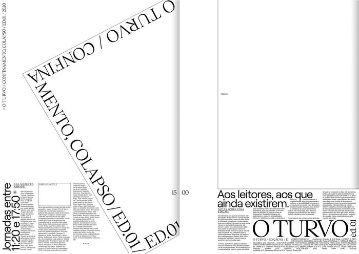 O Turvo, Issue 01 1