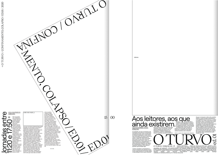 O Turvo, Issue 01 1