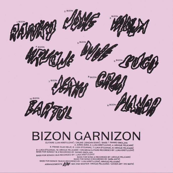 Bizon – Garnizon album art 2