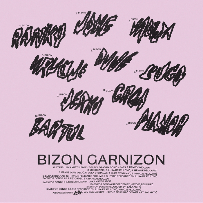 Bizon – Garnizon album art 2