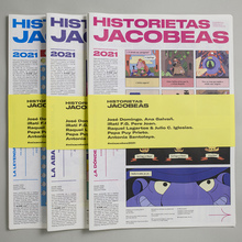 <cite>Historietas Jacobeas</cite> comic zine