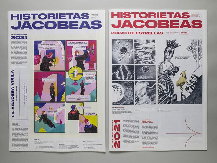 Historietas Jacobeas comic zine 2