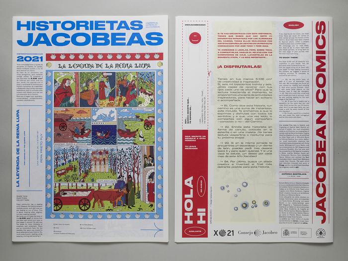 Historietas Jacobeas comic zine 3