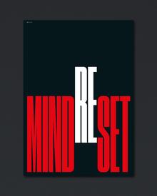 """Mindset/Reset"" poster"