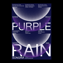 """Purple Rain"" concert poster"