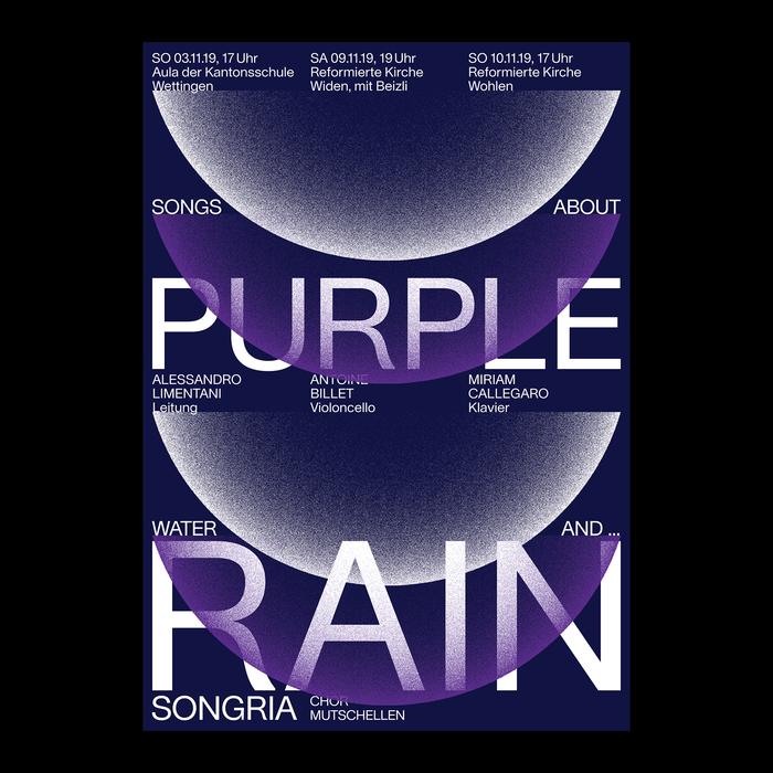 """Purple Rain"" concert poster 1"