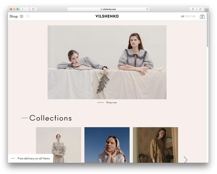Vilshenko website 1