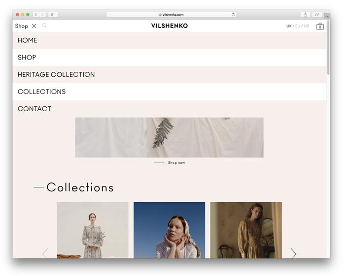 Vilshenko website 2