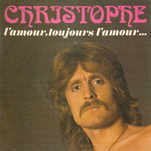 Christophe single sleeves, 1970s