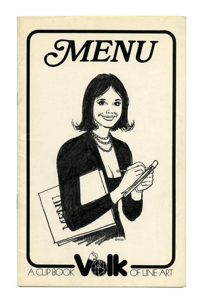 """""""Menu"""" (No. 665), ft.  Italic in all caps, with an initial swash M."""