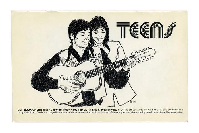 """Teens"" (No. 545) ft.  (1970)."
